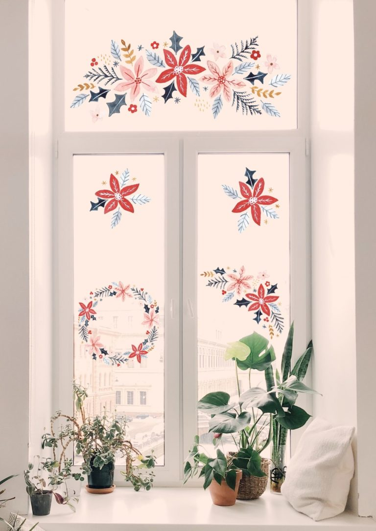 Dekorativer Fensterschmuck