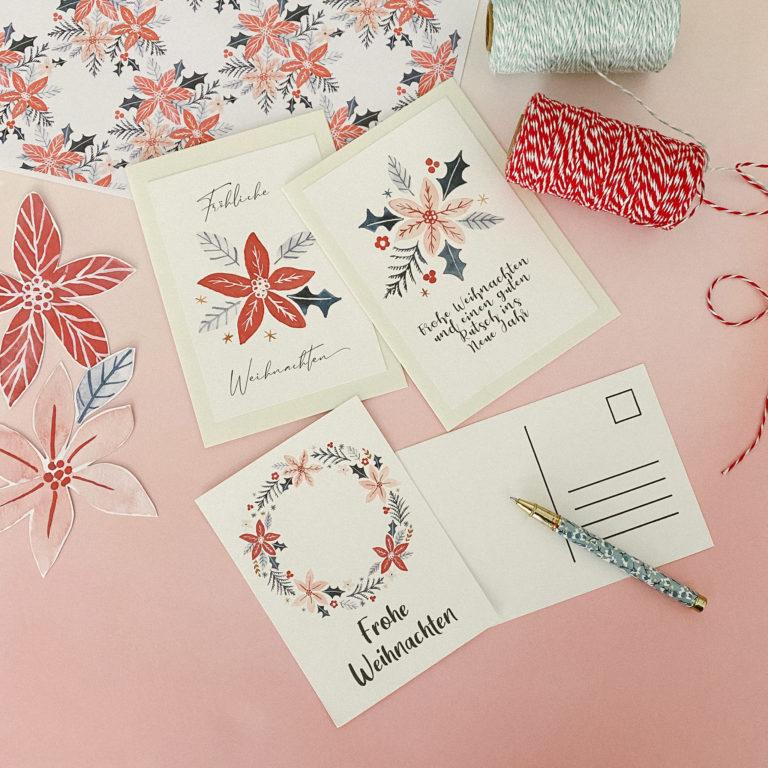 Hübsche Weihnachtskarten